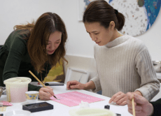 Learn Japanese Pigment Painting in a Nihonga Workshop
