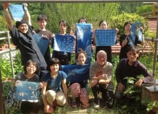Indigo Dyeing with Natural Materials in West Tama, Tokyo