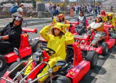 25% OFF Rent a Go-Kart and ride around Osaka with Guide