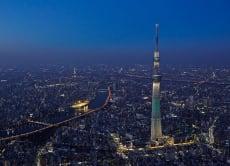 Tokyo and Yokohama Night Helicopter Cruising