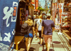 Tokyo West-Side Walking and Food Experience