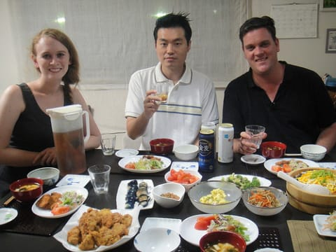Join the Suzuki family for a Real Japanese Meal at Home