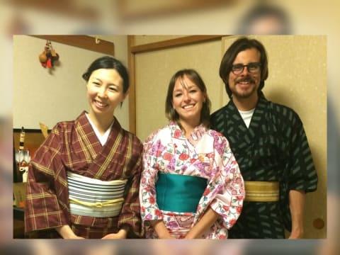 Try a Kimono Lesson - Take Home a Free Yukata as a Souvenir!