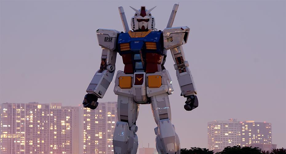 Visit The Gundam Theme Park