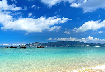 popular destination Okinawa