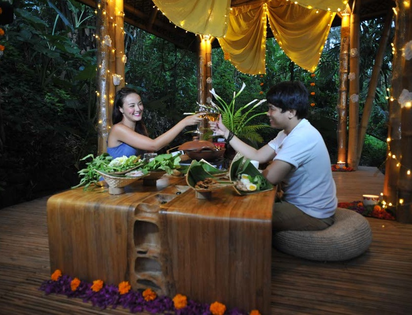 Romantic dinners in bali for couples voyagin