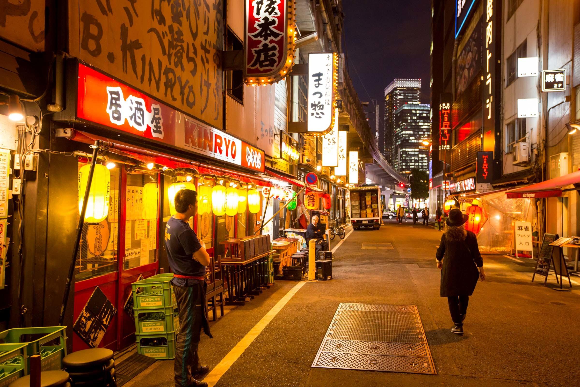 Shimbashi Street Food