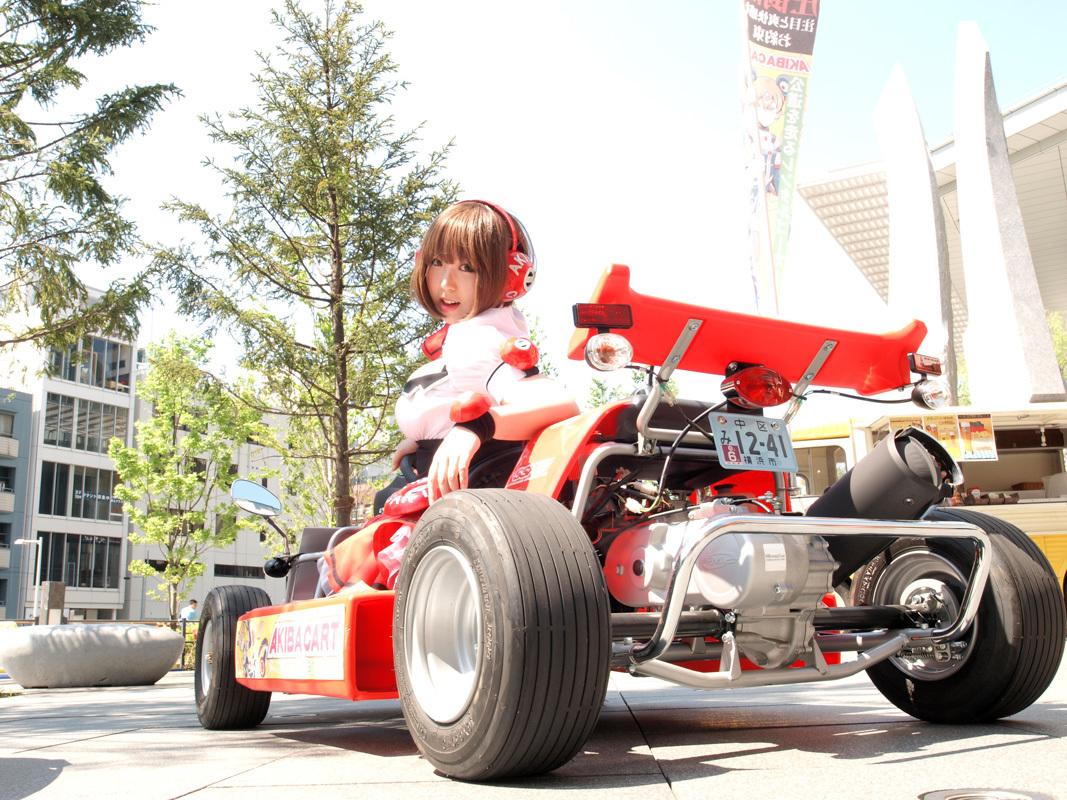 Rent a Go-Kart and ride around Akihabara Tokyo! - Voyagin