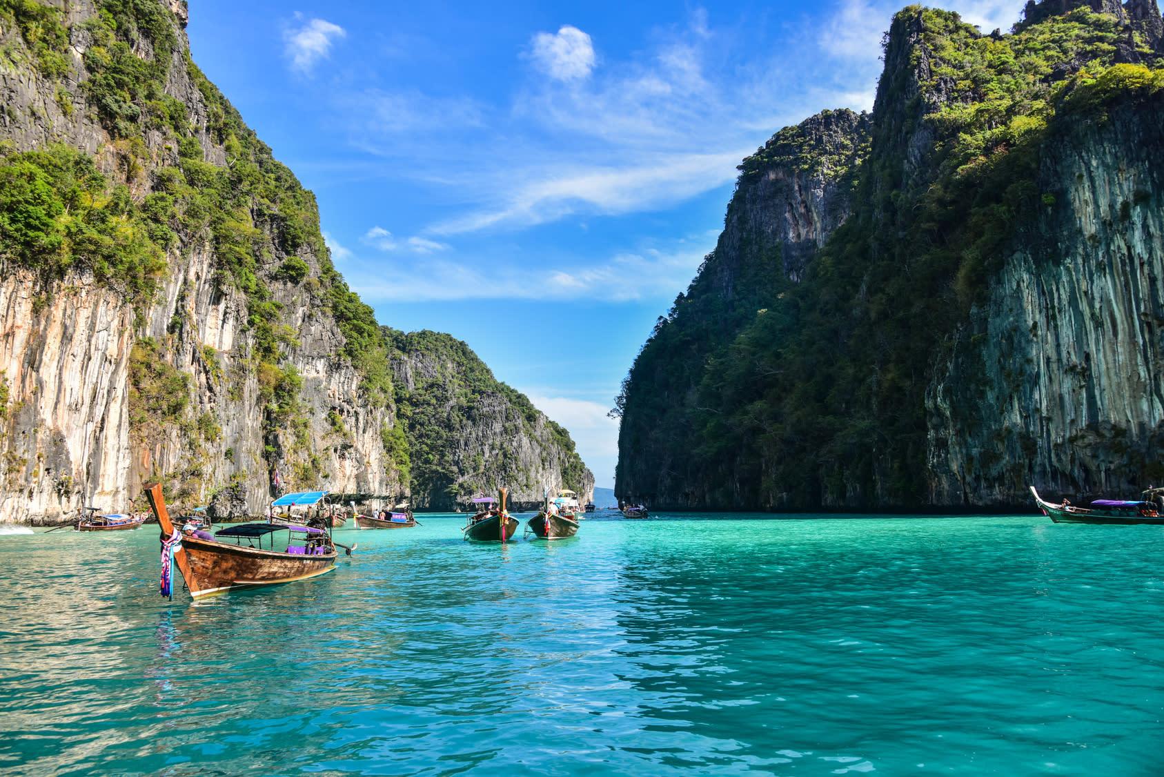 40 Off Phi Phi Island Tour By Speedboat Visit Maya Bay