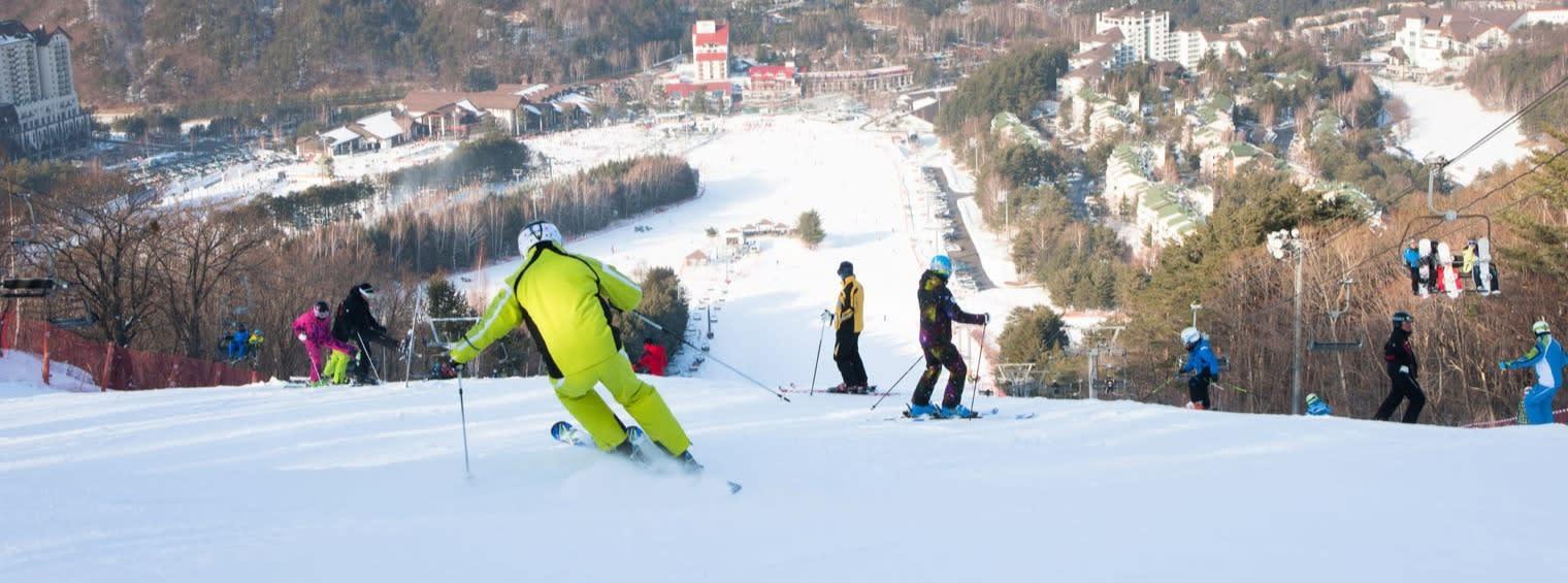 yongpyong resort 1-day ski tour from seoul - voyagin
