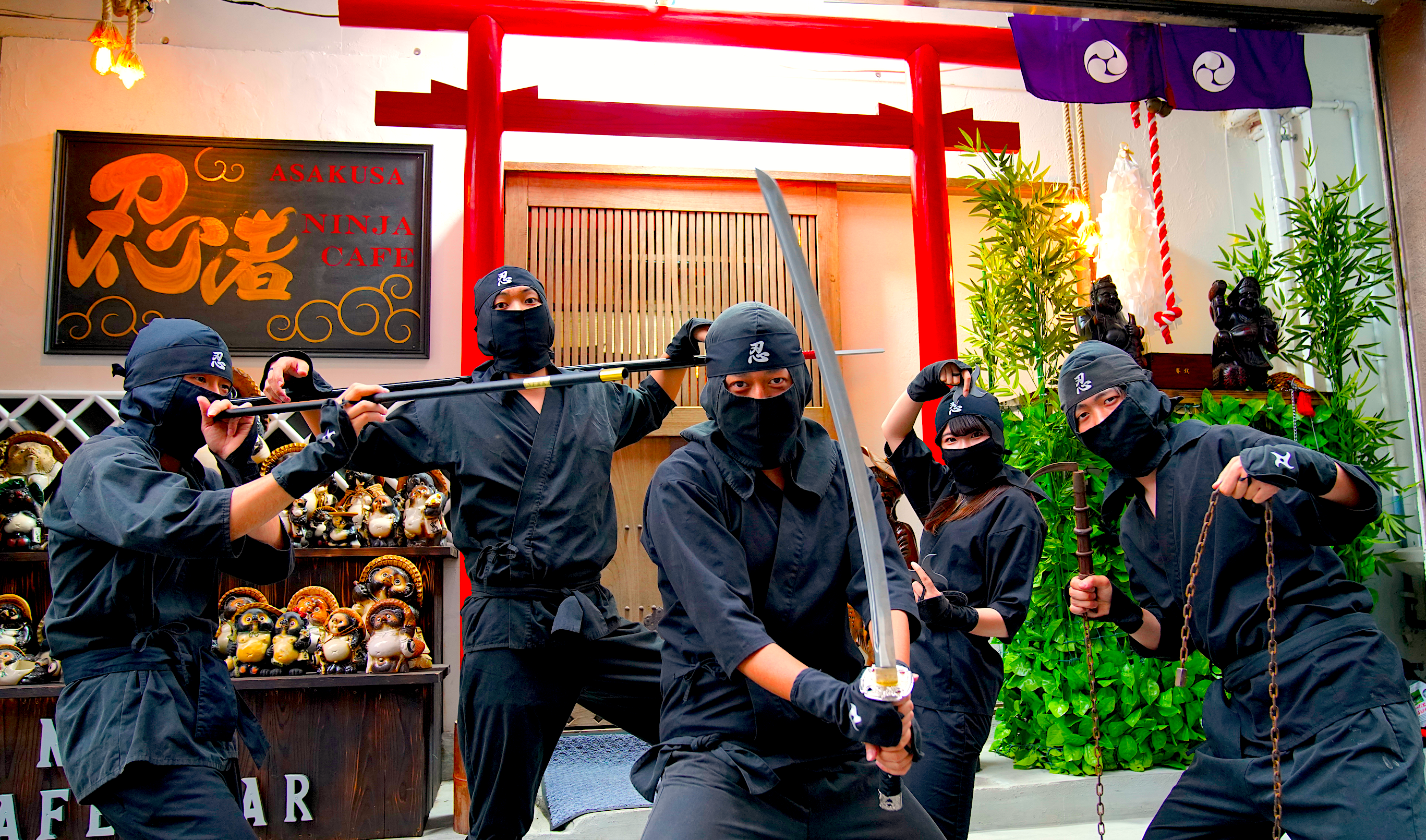 NINJA training & Asakusa NINJA tour!
