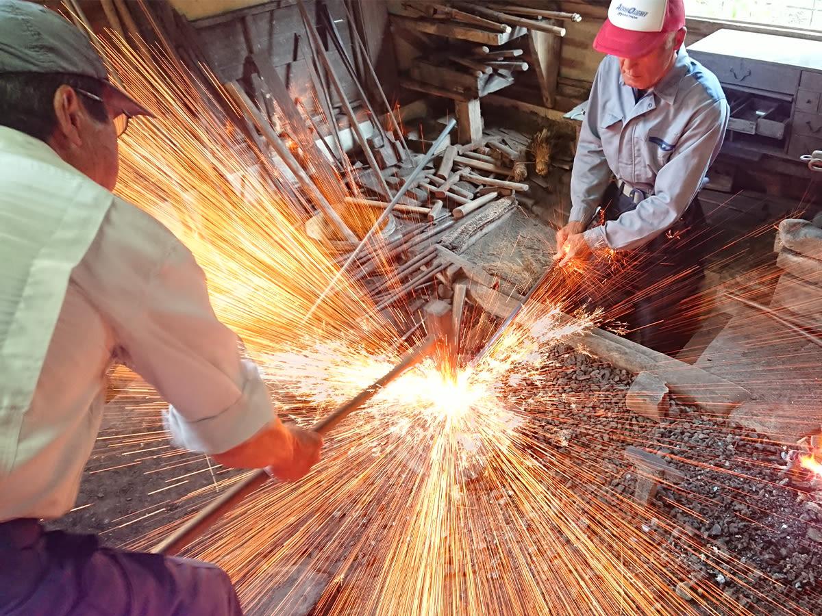 Make Your Own Knife at a Historic Forge in Nagahama, Shiga