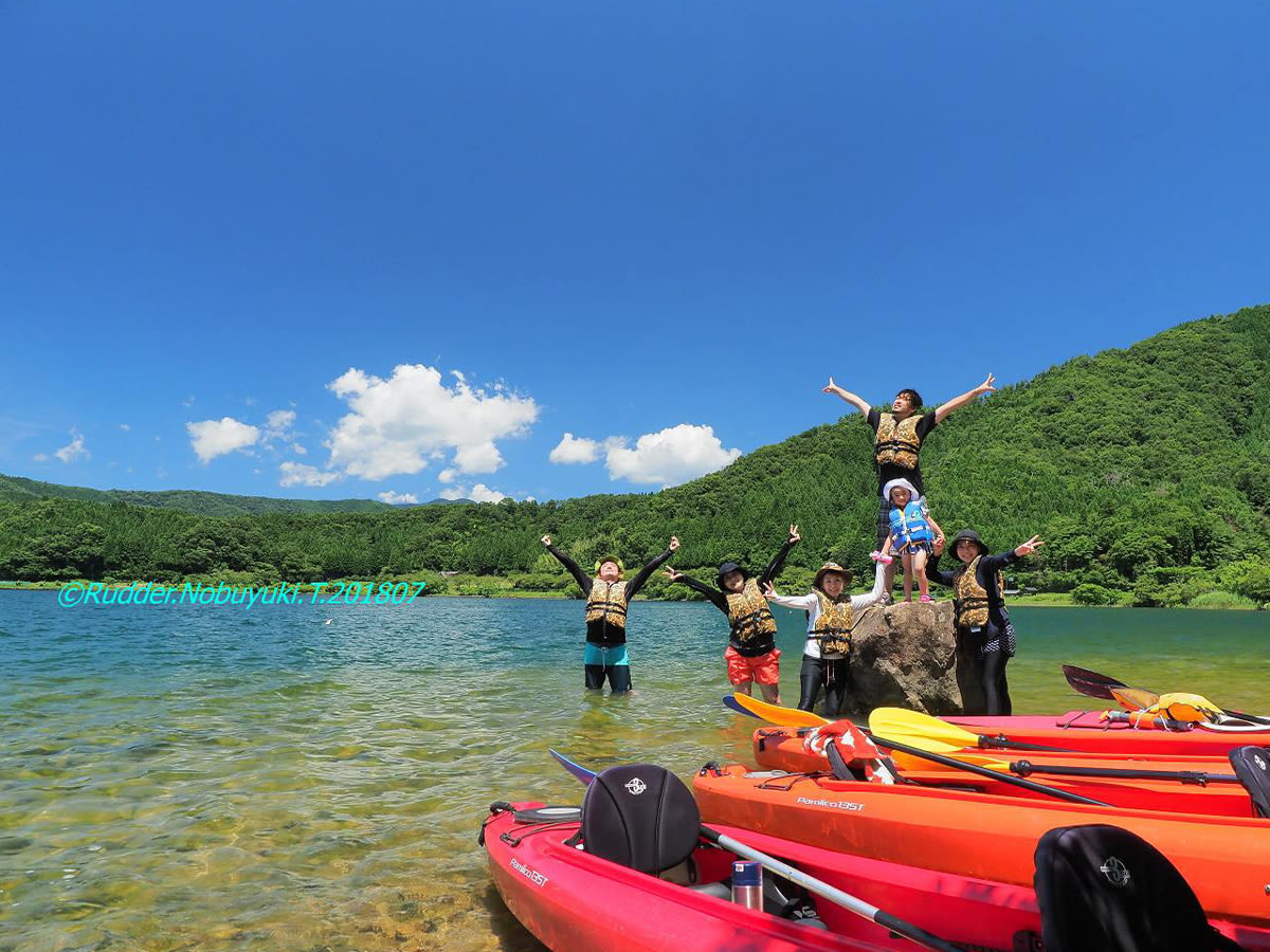 Kayaking Nature Tour of Lake Biwa and Sugaura Village, Shiga