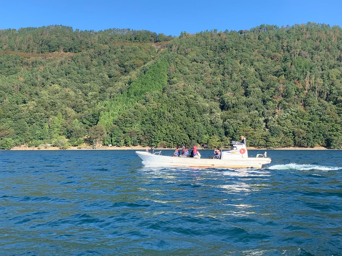 Lake Biwa Private Tour by Fishing Boat From Nagahama, Shiga