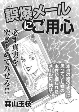 ブラック主婦SP(スペシャル)vol.9~誤爆メールにご用心~