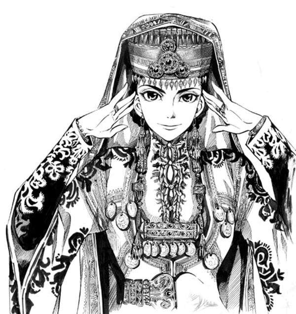 乙嫁語りの「アミル」