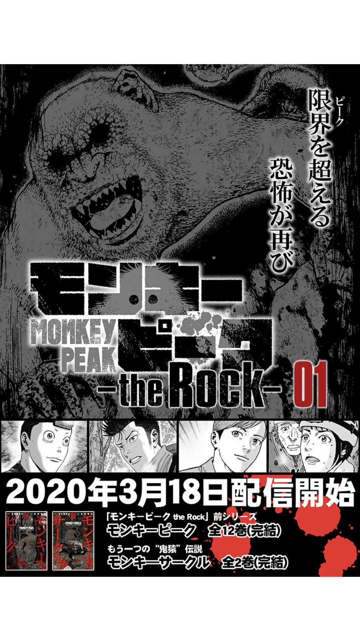 ピーク rock モンキー the