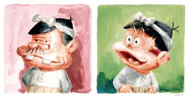 赤塚不二夫生誕80年企画『天才バカボン』『もーれつア太郎』50周年記念 春のビチュツ展 パルコ会場