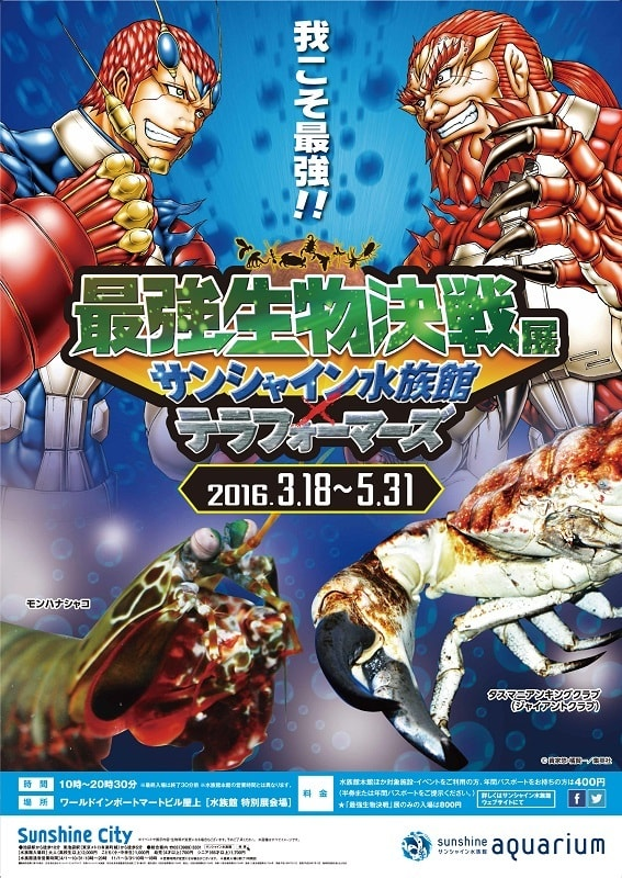最強生物決戦展 サンシャイン水族館×テラフォーマーズ