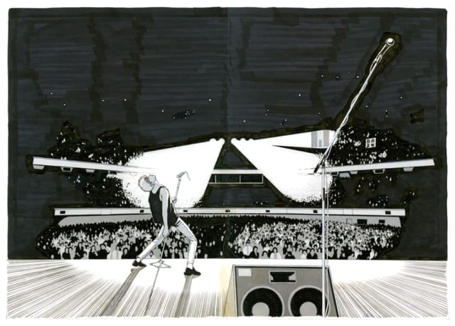 上條淳士「To-y 武道館 1985」展