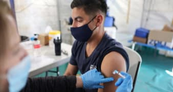 Invent ways to help get your community vaccinated