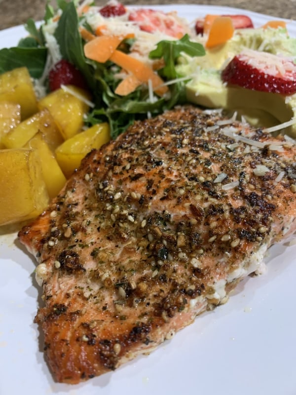 Image of Bristol Bay Salmon with Caramelized Beets