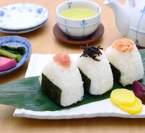 Image of Japanese Onigiri Rice Balls