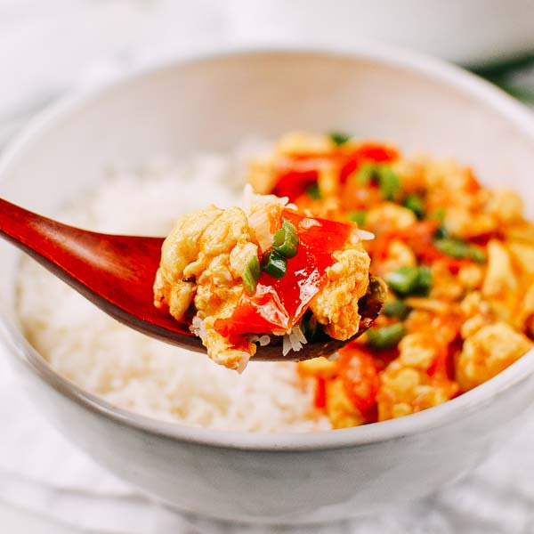 Image of Chinese Tomato Egg Stir-fry