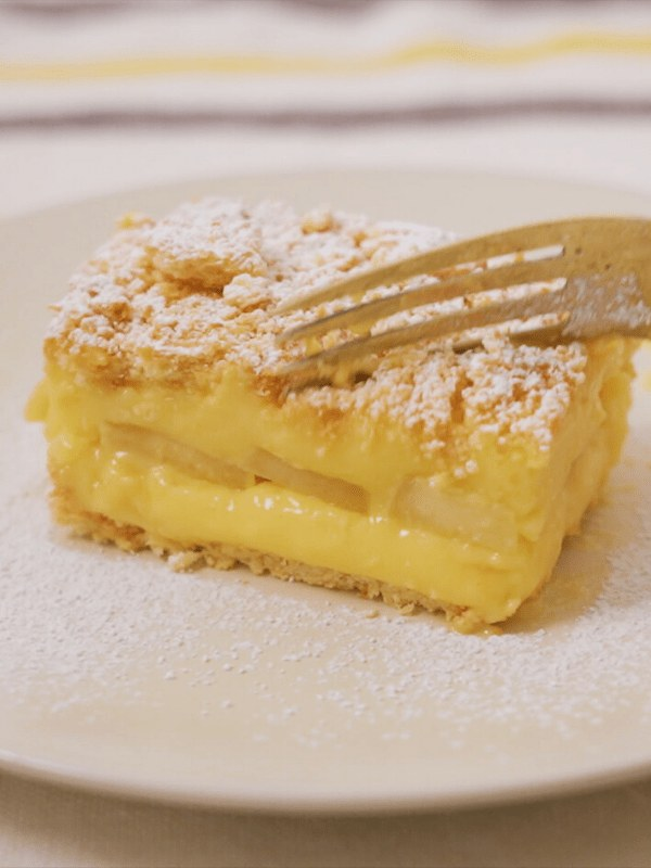 Image of South African Apple Custard Crumble