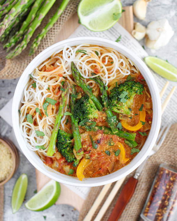 Image ofCoconut Curry with Rice Noodles