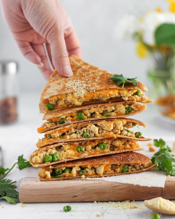 Image ofTofu Scramble Quesadillas