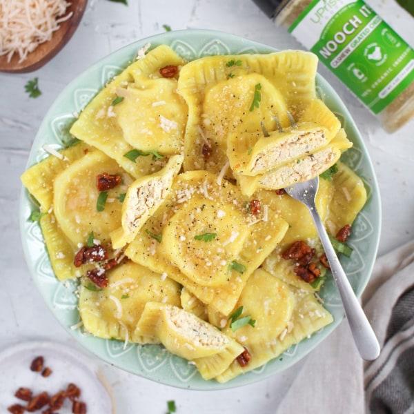 Image of Vegan Cheese Ravioli