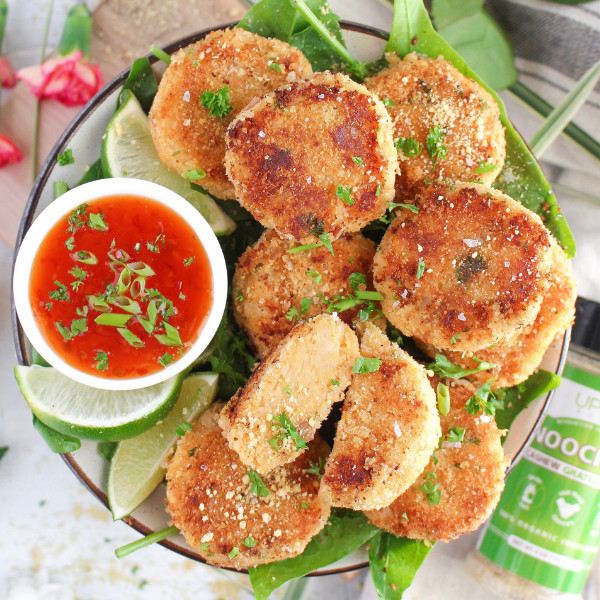 Image ofCheesy Thai Curry Potato Patties