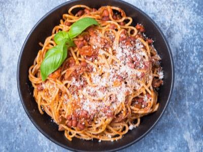 Image of🍝 Vegane Bolognese | Rezept