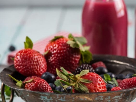Image of 🍓 RED HEALTH BLIZZARD JUICE | Rezept