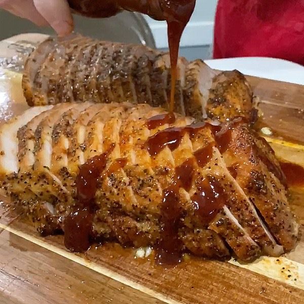 Image ofSweet Heat Pork Loin with Pineapple Chipotle Sauce
