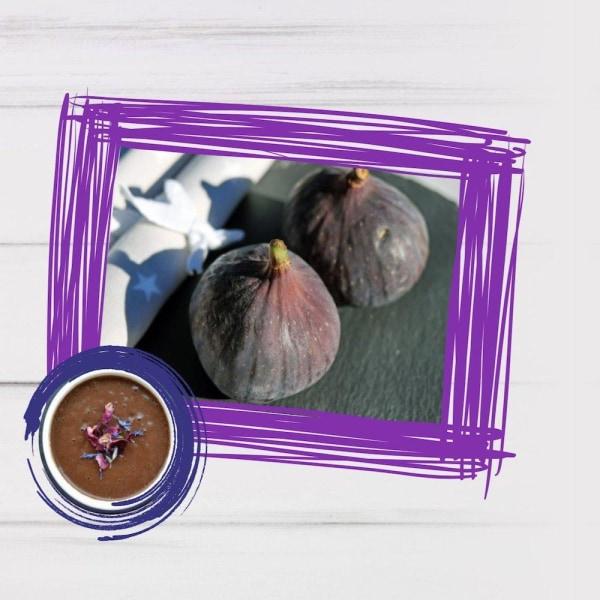 Image of Vegan Chocolate Figs Smoothie Recipe