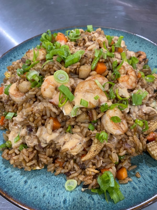 Image ofHoney Sriracha Shrimp Fried Rice