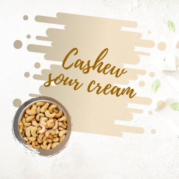Image of Vegan Cashew Sour Cream
