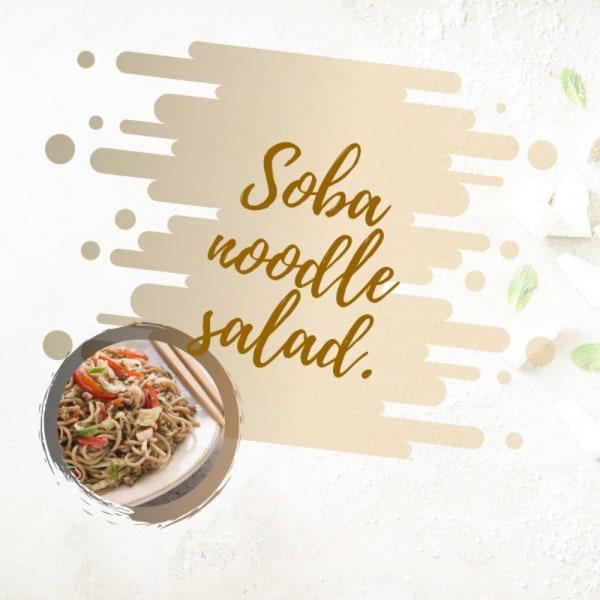 Image of Soba Noodles Recipe