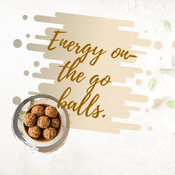 Image of Vegan Energy Balls Recipe