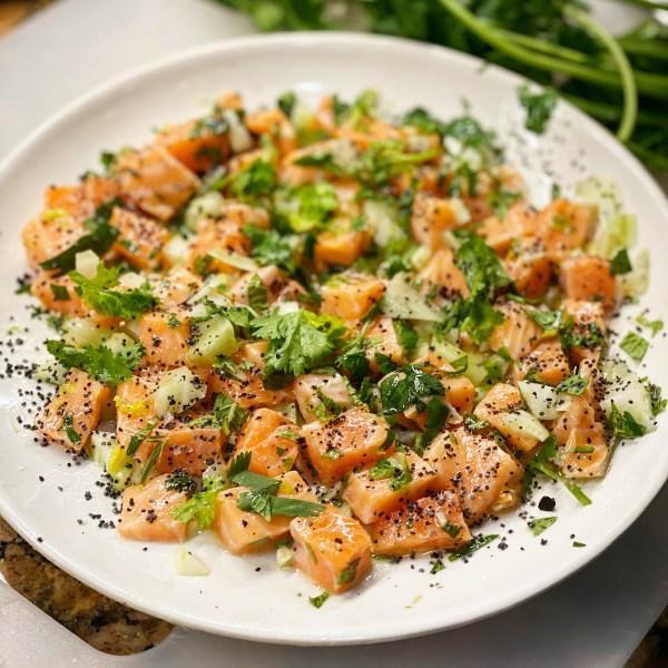 Image of Salmon Ceviche