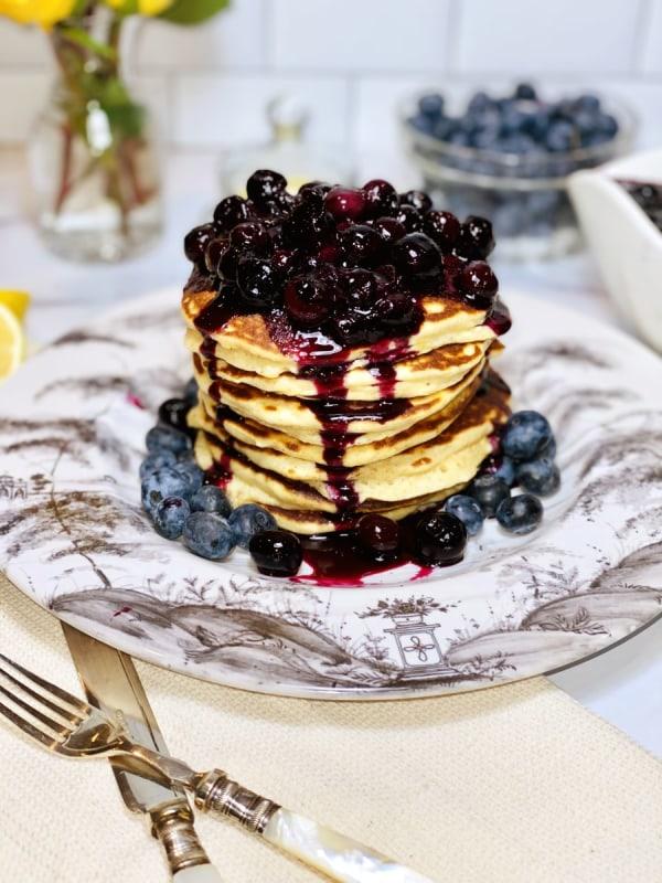 Image of Lemon Ricotta Pancakes