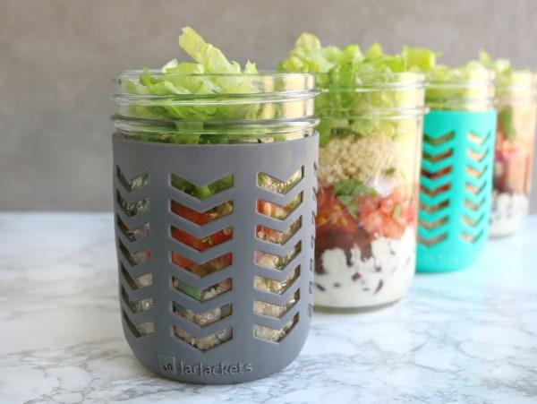 Image of Tex-Mex Meal Prep Jars