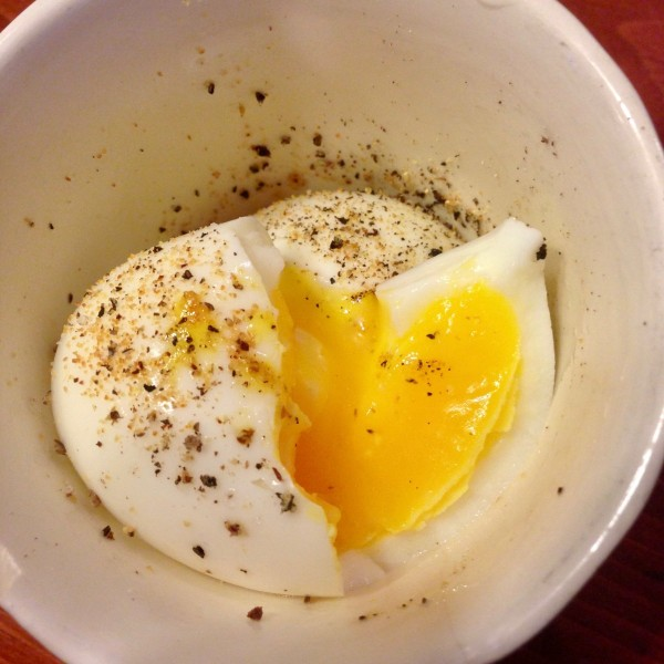 Image ofthe perfect soft boiled egg