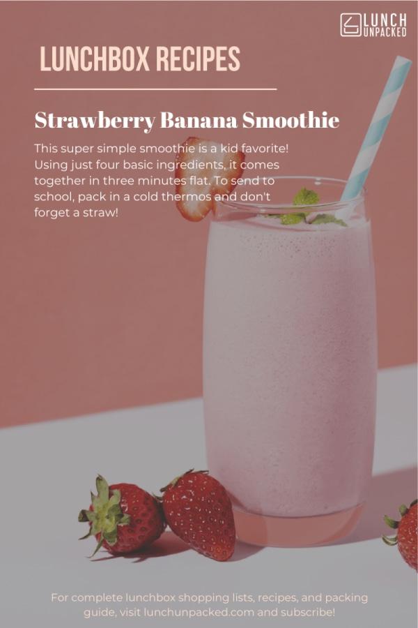 Image ofStrawberry Banana Smoothie