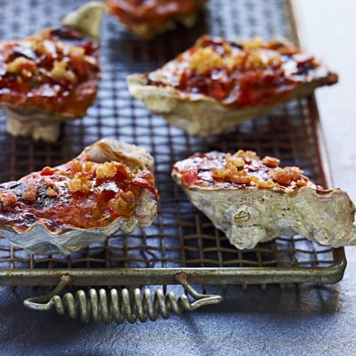 Image of BBQ-Baked Oysters