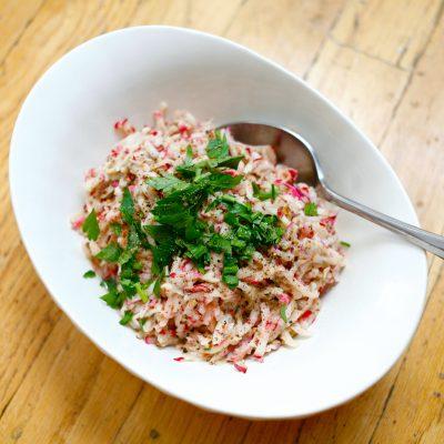 Image of Tahini Radish Salad