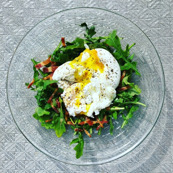 Image of Eggy Arugula Salad