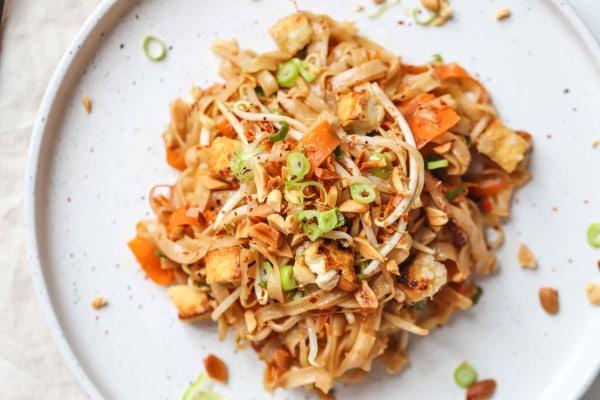 Image of Vegan Tofu Pad Thai Recipe